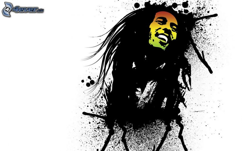 Bob Marley, Kleckse