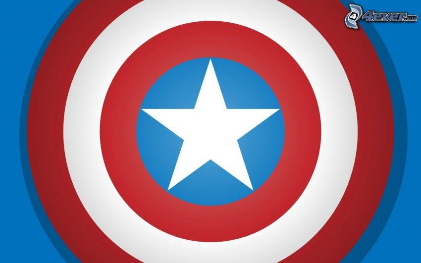 Captain America, Schild