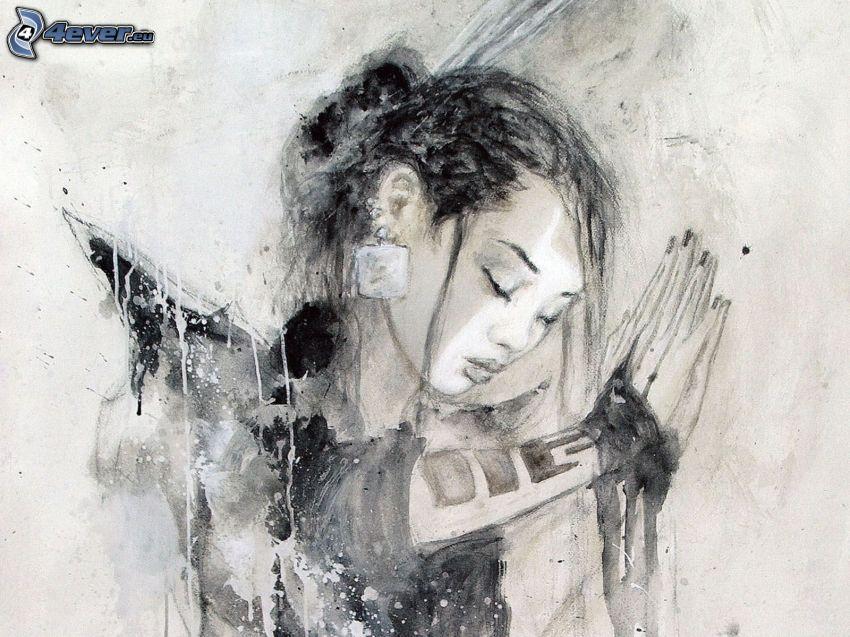 chinesische Frau, Luis Royo, Fantasy