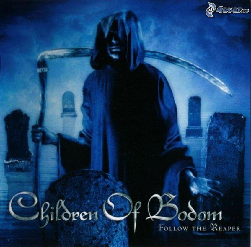 Children of Bodom, Sensenmann, Friedhof