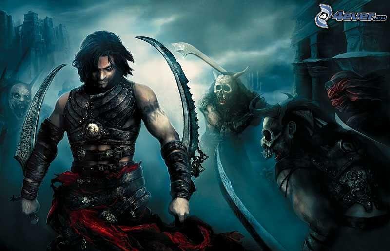 Prince of Persia: Warrior Within, Schwerter, Kämpfer