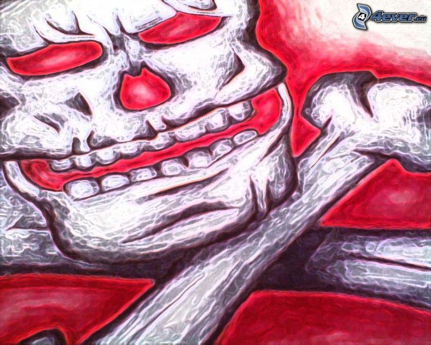 Schädel, Knochen
