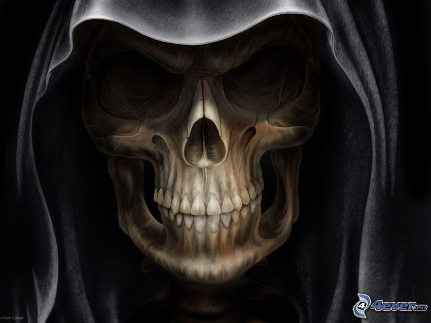 Schädel, Tod
