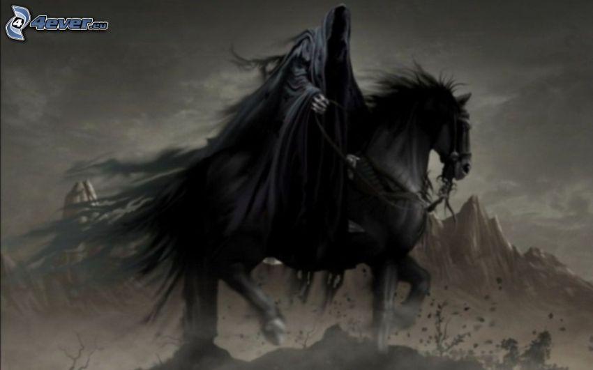 Sensenmann, Pferd