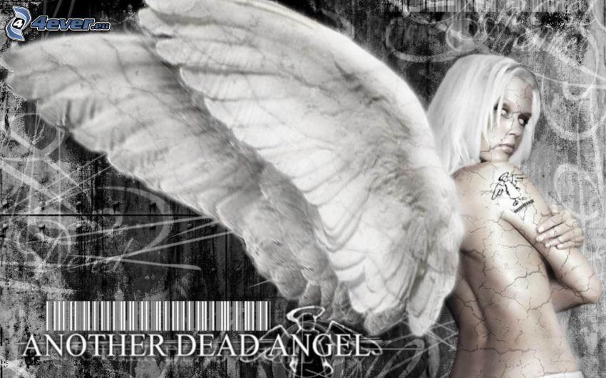 sexy Engel, Fallen Angel, topless