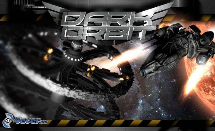 Dark Orbit, Raumschiff, Universum, Planet, Krieg