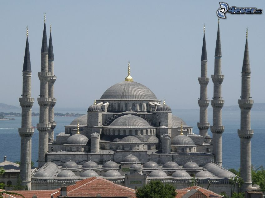 Die Blaue Moschee, Meer