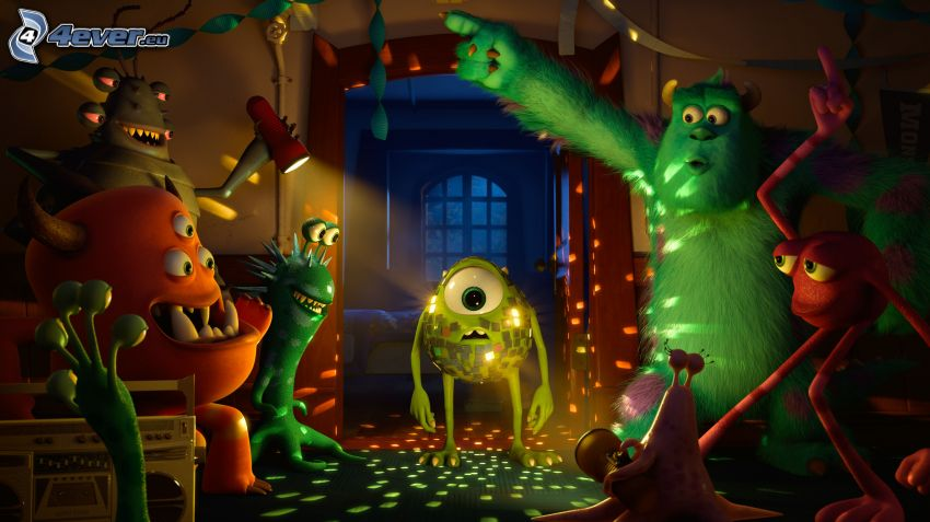 Die Monster AG, Party