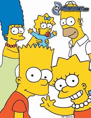 Die Simpsons, Homer Simpson, Familie