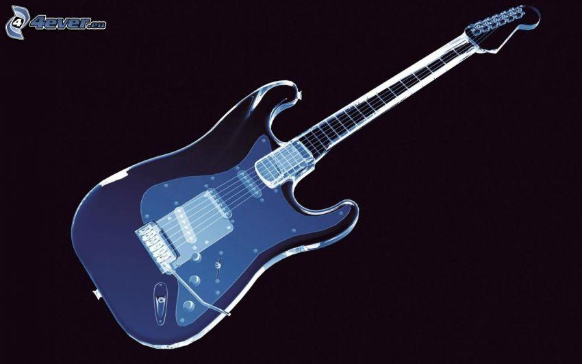 cartoon Gitarre
