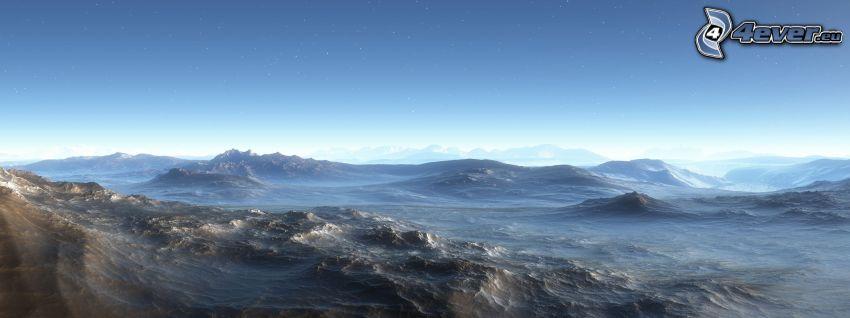 digitale Landschaft