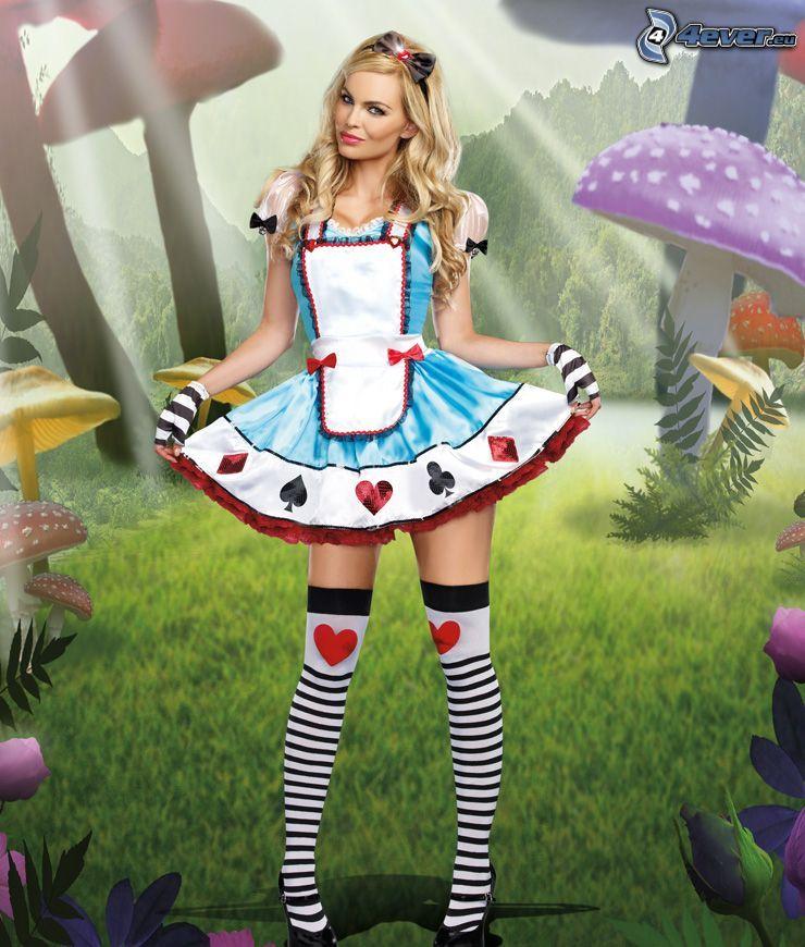 Fabelwesen, Märchenlandschaft, Kostüm