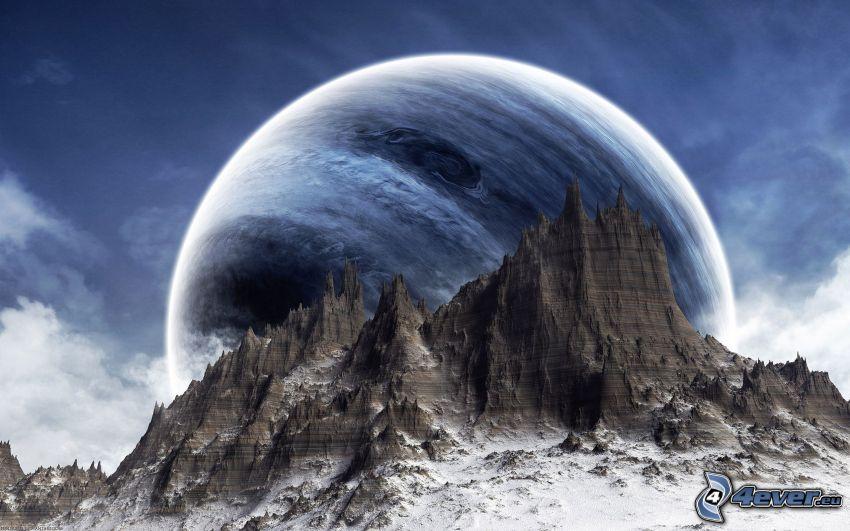 Felsen, Planet