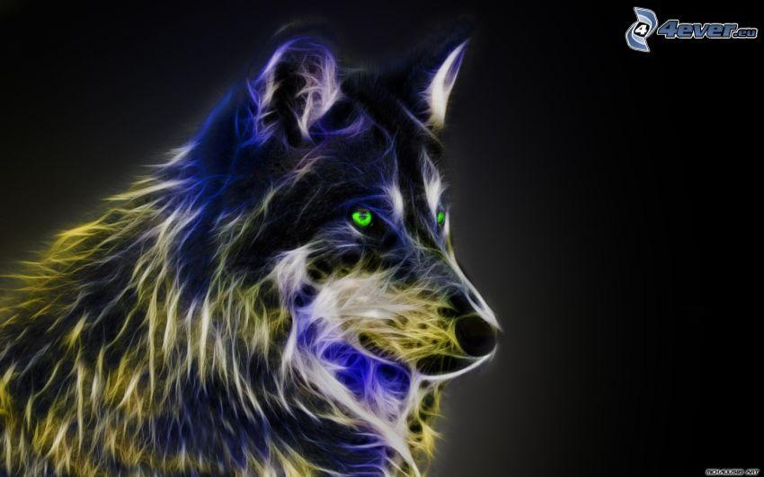 fractaler Wolf