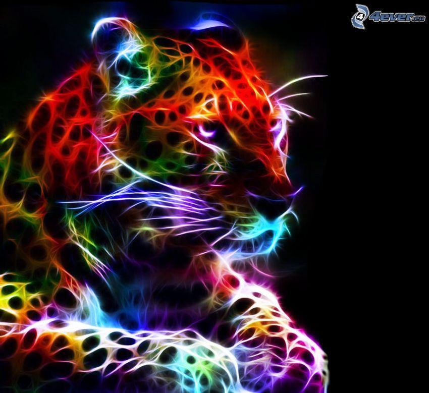 fraktal Leopard