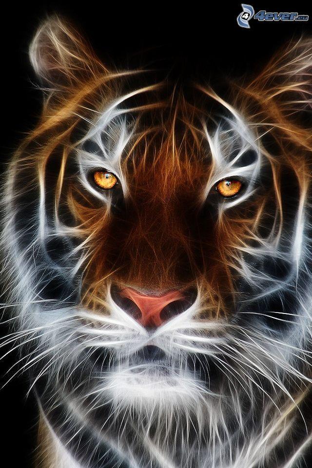 fraktaler Tiger