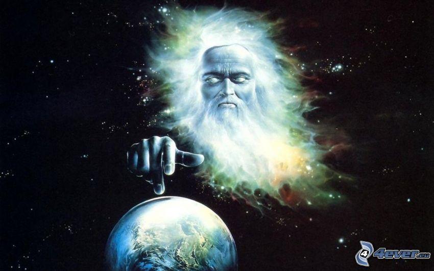 Gott, Planet Erde