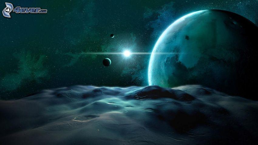 Meer, Planeten