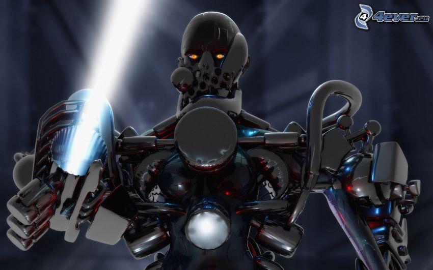 Ninja Saga, Robot