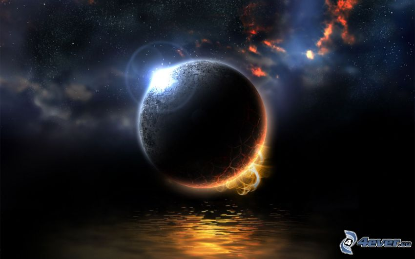 Planet, Wasser, Universum