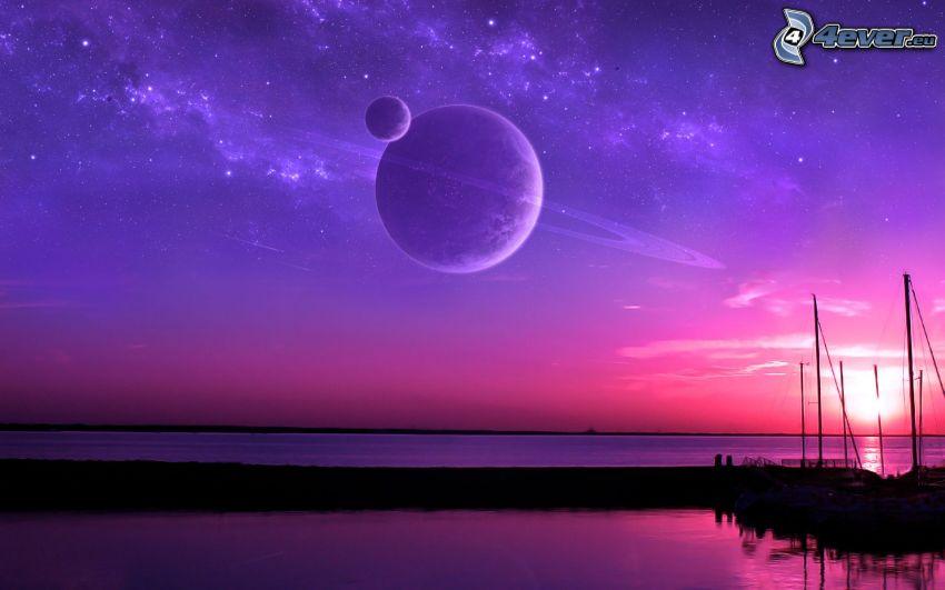 Planeten, Meer