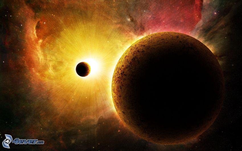 Planeten, Stern