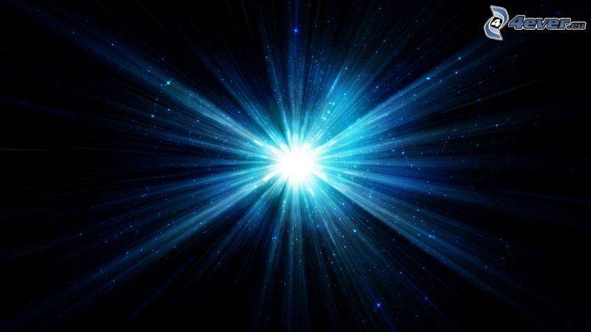Stern, Licht