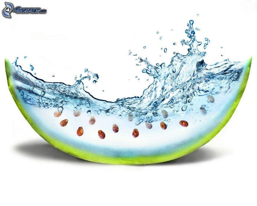 Wassermelon, Wasser