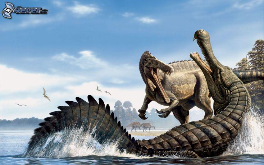 Dinosaurier, Krokodil