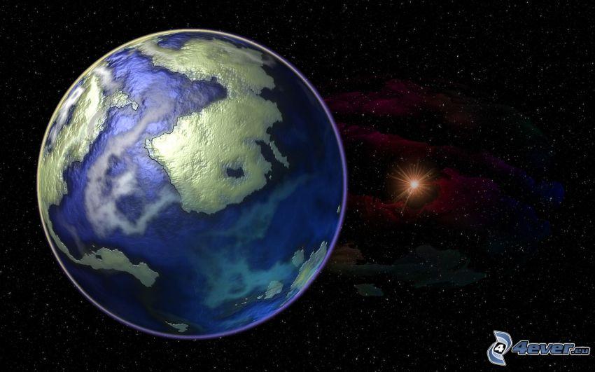 Erde, Sterne