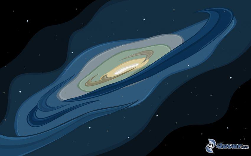 Galaxie, Universum