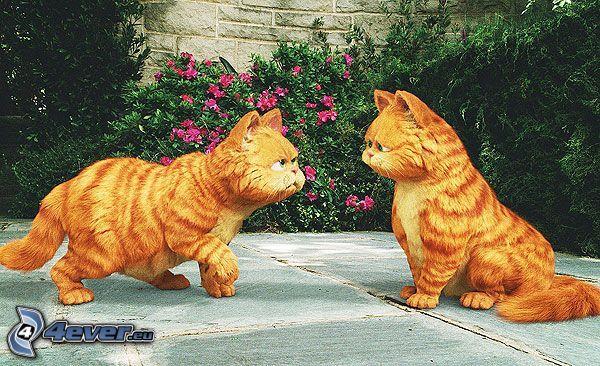 Garfield, Zwillinge