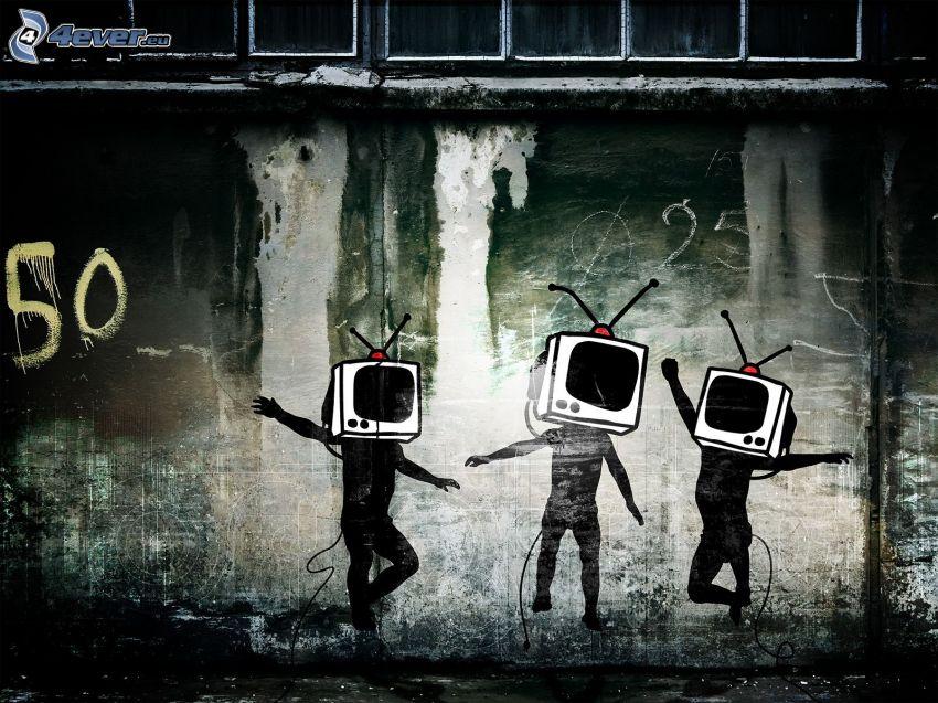 gezeichnete Figürchen, TV
