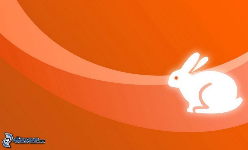 gezeichnetes Kaninchen
