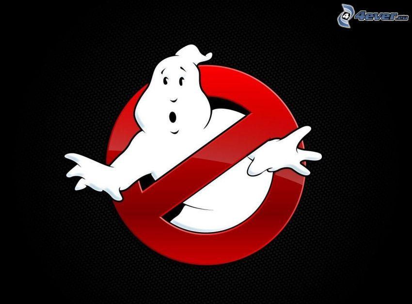 Ghostbusters, Gespenst, Schild