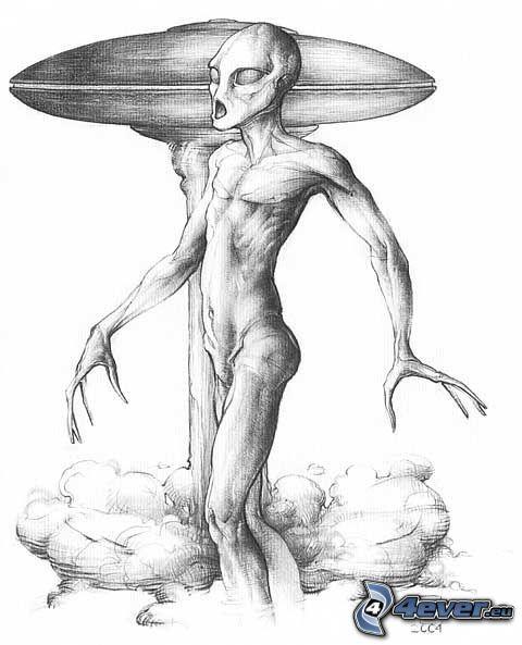 Außerirdische, UFO