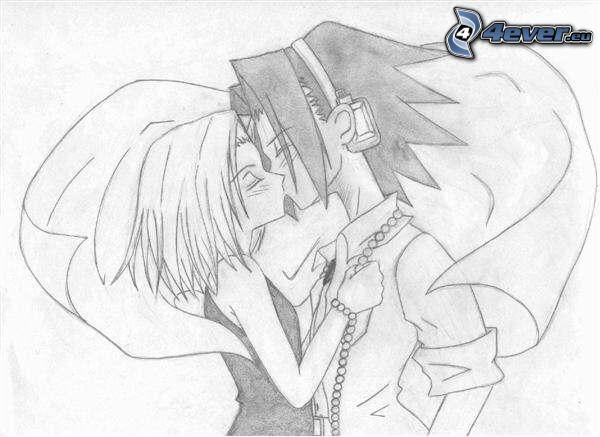 Shaman King, anime Paar