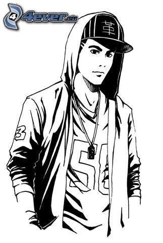hip hop, Junge