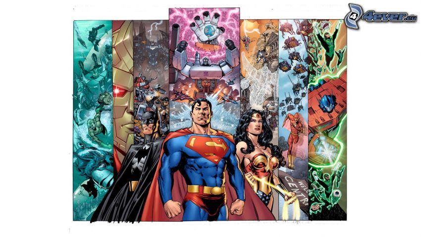 Justice League, Transformers