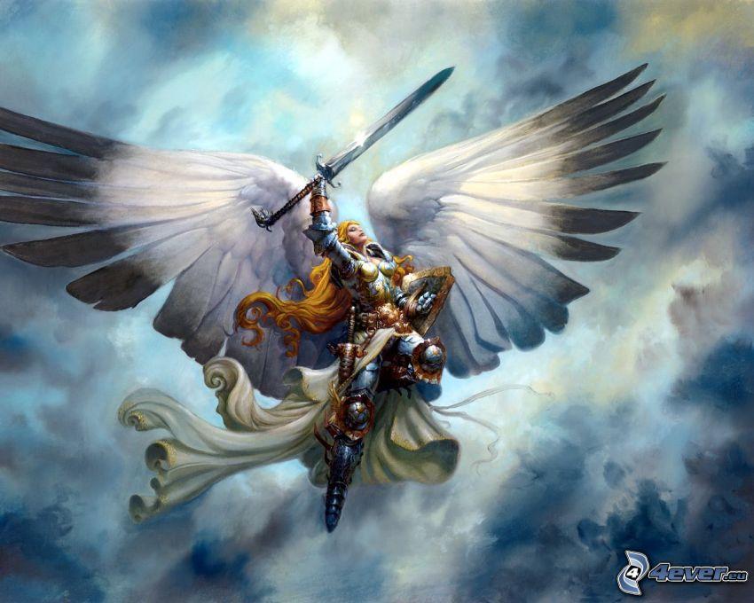 Kämpferin, Flügel