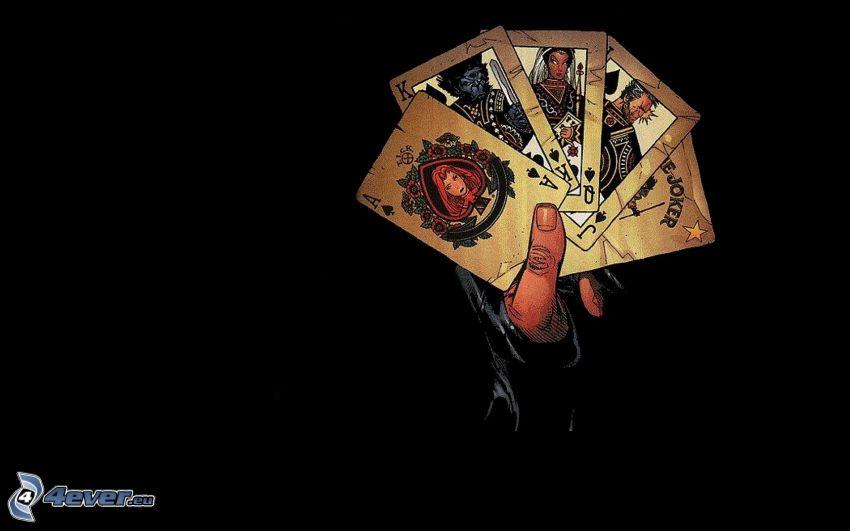 Karten, Hand