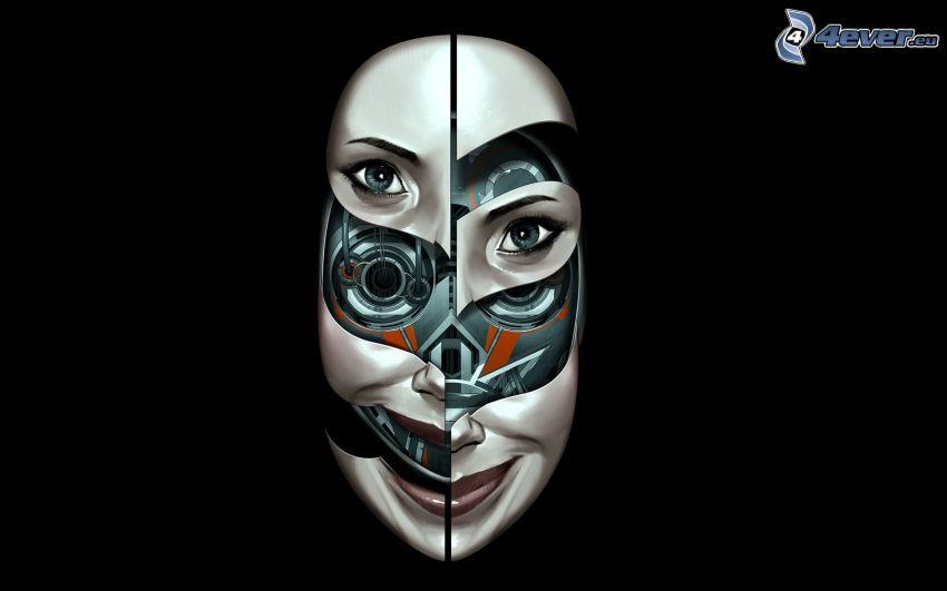 Maske, Robot