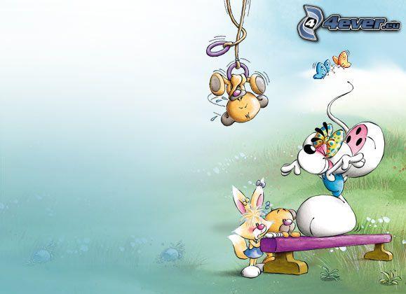 Maus, Cartoon