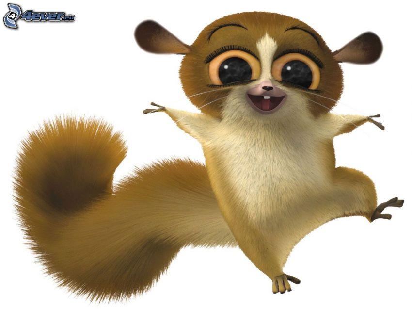 Mort aus Madagaskar, Lemur