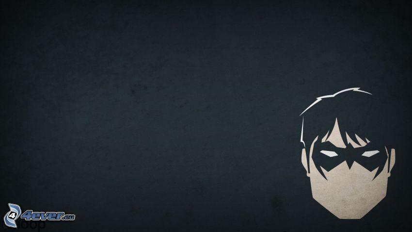 Nightwing, Gesicht