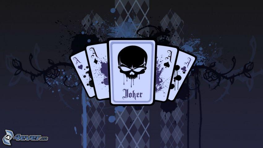 poker, Ass