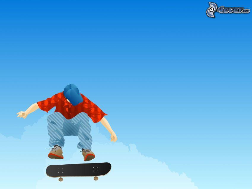 Skateboardfahren