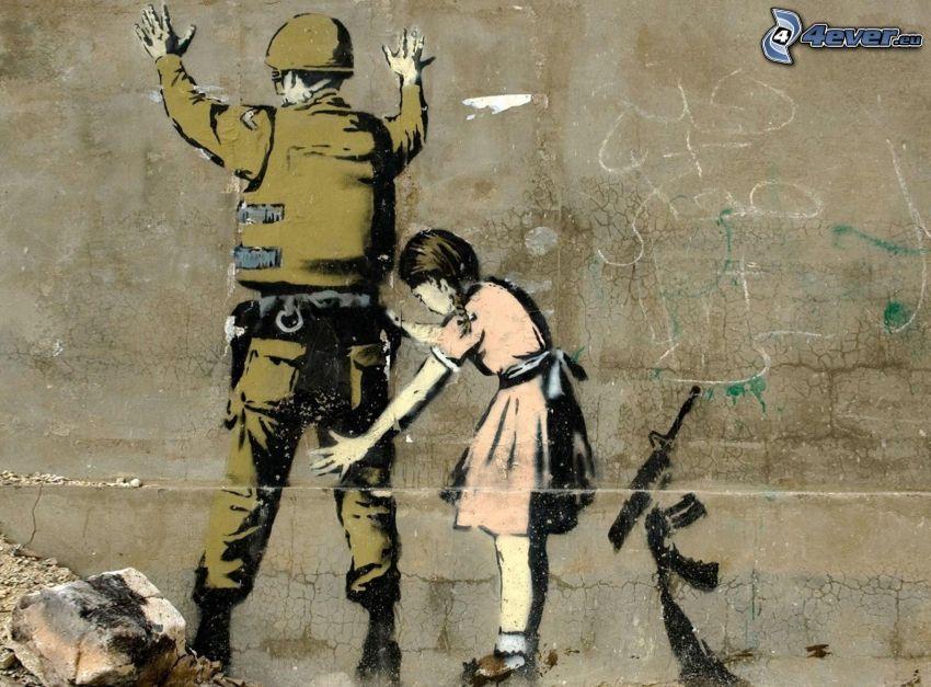 Soldat, Mädchen