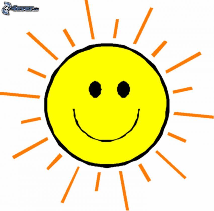 Sonne, Cartoon