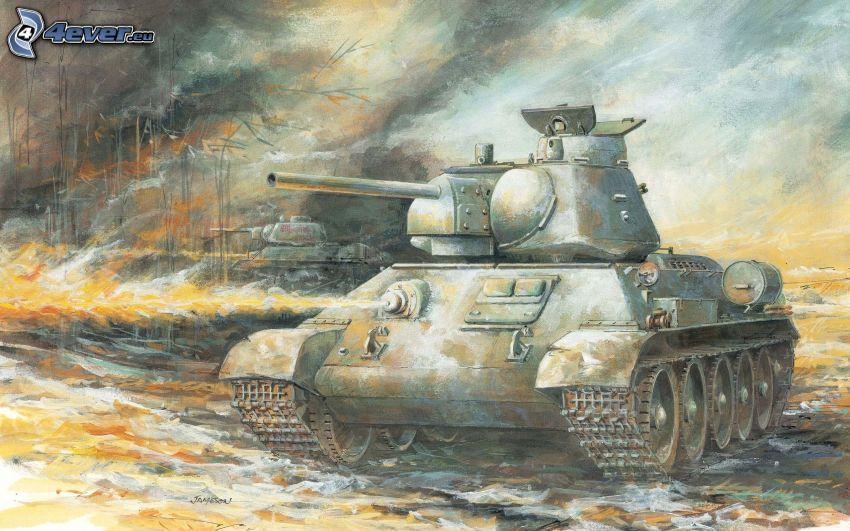 T-34, Panzer